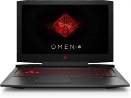 "HP Omen Gaming Laptop 15.6"" - 8th Gen Intel Core I7 2.2 GHz - 16GB RAM - 1TB HDD + 256GB SSD"