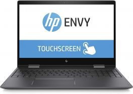 "HP Envy X360 15"" 2-In-1 Convertible TouchScreen Laptop - 8th Gen Intel Core I7 1.8GHz - 4GB RAM - 1TB HDD+16GB OPTANE"