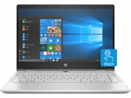 "HP Pavilion x360 14"" 2-In-1 Convertible Touchscreen Laptop - 8th Gen Intel Core i5 1.6GHz - 8GB RAM - 256GB SSD - Windows 10 Home"