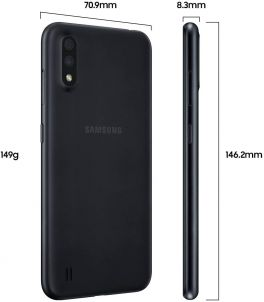 Samsung Galaxy A01 Dual SIM - 16GB ROM, 2GB RAM 4G LTE