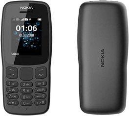 Nokia 106 Dual Sim - Black