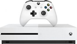 Microsoft Xbox One S 1TB All-Digital Edition Console (Disc-free Gaming) - White