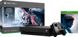 Microsoft Xbox One X 1TB Console - Star Wars Jedi: Fallen Order Deluxe Edition Bundle