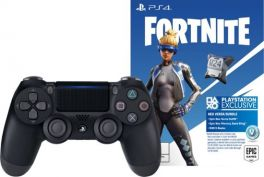 Fortnite Neo Versa DualShock® 4 wireless controller Bundle - Jet Black
