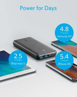 Anker PowerCore Essential 20000mAh Fast Charging Power Bank