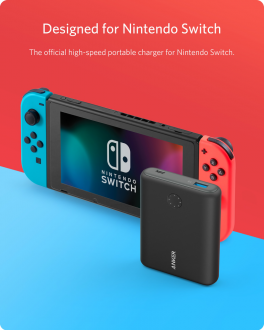 Anker PowerCore 13400mAh Fast Charging Power Bank - Nintendo Switch Edition