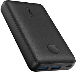 Anker PowerCore Select 10,000mAh Fast-Charging Power Bank