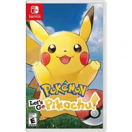 Pokémon: Let's Go, Pikachu! - Nintendo Switch