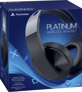 Sony - Platinum Wireless 7.1 Virtual Surround Sound Gaming Headset for PlayStation 4