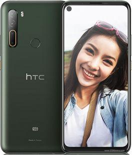 HTC U20 Dual SIM -  256GB - 8GB RAM - 5G - Mirage Green